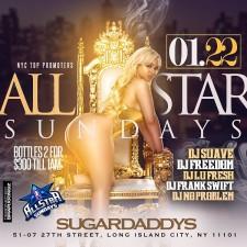ALL STAR SUNDAYS<BR>