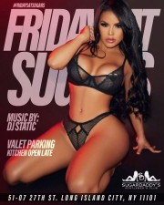 FRIDAY AT SUGARS with music by DJ STATIC