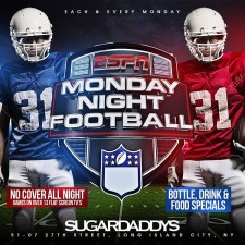 INDUSTRY NIGHTS<BR>MONDAY NIGHT FOOTBALL