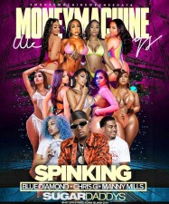 MONEY MACHINE WEDNESDAYS AT SUGARS with SPINKING at SUGARDADDYS NYC