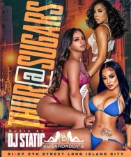 THURSDAY AT SUGARS with music by DJ STATIC