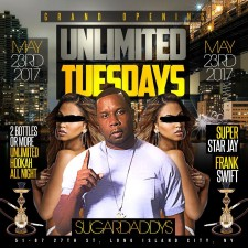 UNLIMITED TUESDAYS<BR>GRAND OPENING