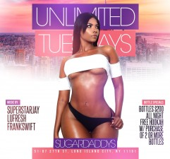 UNLIMITED TUESDAYS<BR>