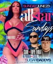 ALL STAR SUNDAYS<BR>