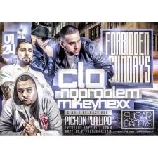 FORBIDDEN SUNDAYS<BR>DJ C-LO DJ NO PROBLEM<BR>MIKEY HEXX