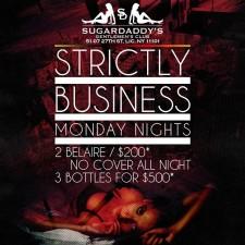 #SDNY STRICTLY BUSINESS MONDAYS