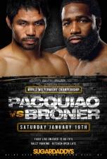 Pacquiao vs Broner PPV at Sugardaddys NYC